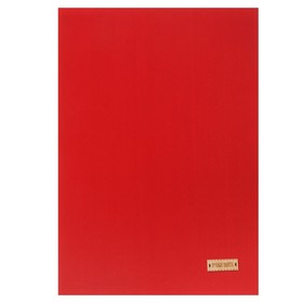 Ткань на клеевой основе «Красная», 21 х 30 см Ош