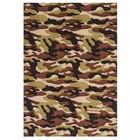 Ткань на клеевой основе «Военная», 21 х 30 см