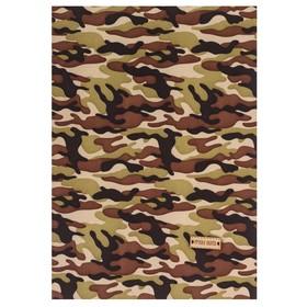 Ткань на клеевой основе «Военная», 21 х 30 см Ош
