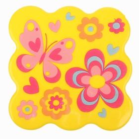 УЦЕНКА Мини-коврик для ванны на присосках «Бабочка»