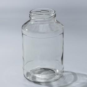 купить Банка стеклянная, 2 л, ТО-82 мм