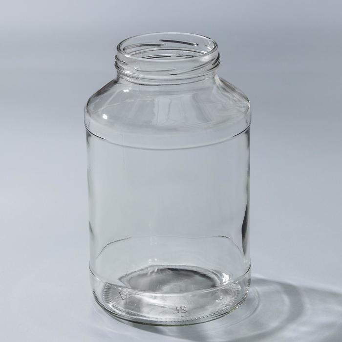 Банка стеклянная, 2 л, ТО-82 мм
