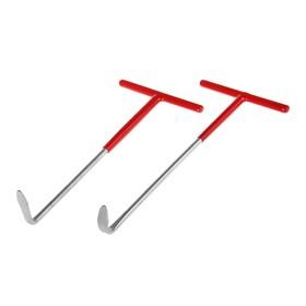 Набор крюков 'Эврика', для снятия втулок крепления глушителя, 2 шт. Ош