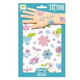 Набор татуировок «Цветы»