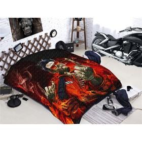 Покрывало «Байкеры», размер 150 × 215 см, мако - сатин
