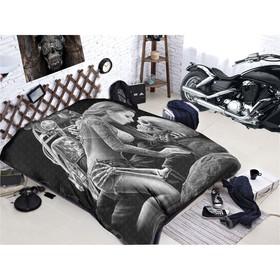 Покрывало «Байкеры», размер 150 × 200 см, мако-сатин
