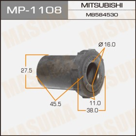 Втулка рессорная  Masuma MP1108 Ош
