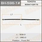 Шланг тормозной  Masuma BH5961
