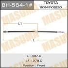 Шланг тормозной  Masuma BH5641
