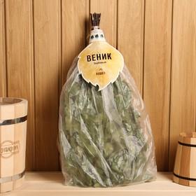 Веник для бани берёзовый в упаковке Ош