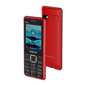 Сотовый телефон Maxvi X650 Red, цвет красный