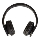 Наушники с микрофоном Denn DHB405 Bt, Bluetooth, накладные, черные