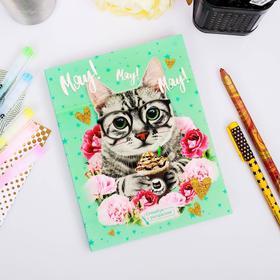 Ежедневник-смэшбук с раскраской 'Мяу! Мяу! Мяу!' Ош