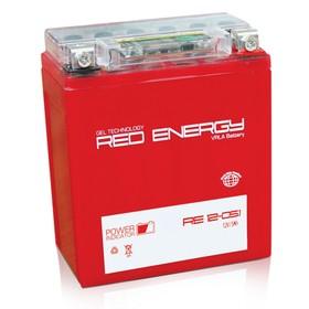 Аккумуляторная батарея Red Energy 5 А/ч - 6СТ АПЗ, Moto AGM, 12-05.1, 12N5-3B, прямая полярность   2 Ош