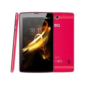 Планшет BQ  7083G Light Red 7', 1024х600, TN, 4*1.0Ghz, 1+8Гб, GPS, 7.0, розовый Ош