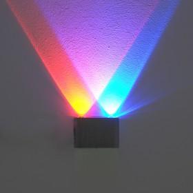 Светильник 28040/2 'Ипсилон' 2x1W LED 6x3x9,5 см Ош