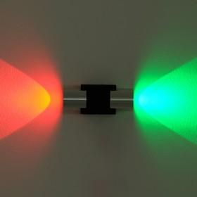 Светильник 25049/2 'Азариас' 2x1W LED 11,5x3,5x5 см Ош