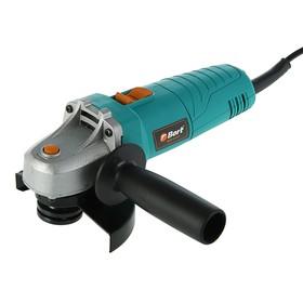Угловая шлифмашина Bort BWS-610-P, 600 Вт, d=115 мм, 11000 об/мин, блокировка шпинделя