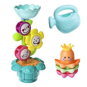 Игрушки для купания «Осьминожки и цветок», 5 предметов