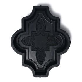 Форма для тротуарной плитки «Клевер», 26.7 × 21,8 × 4.5 см, узорный, Ф31016, 1 шт. Ош