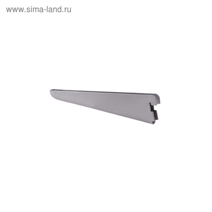 Кронштейн Прямой L9006GA, блест. алюминий, 470мм