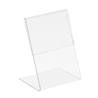 Ценникодержатель вертикальный, 3*4 см, пластик, цвет прозрачный