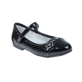 Туфли дошкольные SC-21031 (чёрный) (р. 26) Ош