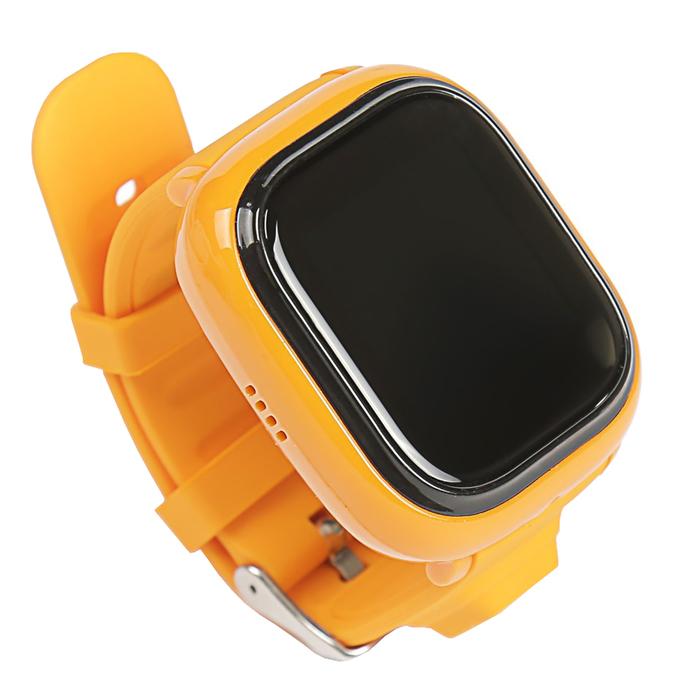 """Смарт-часы EnBe Children Watch, детские, дисплей 1.22"""", оранжевые"""