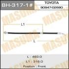 Шланг тормозной  Masuma BH3171