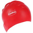 Шапочка для плавания FASHY Flexi-Latex Cap, арт.3030-00-55, латекс, цвет красный