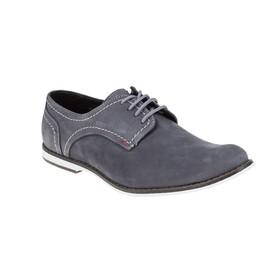 Туфли мужские, цвет серый, размер 42