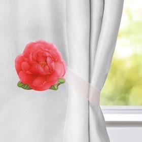 Подхват для штор «Чайная роза» Ош