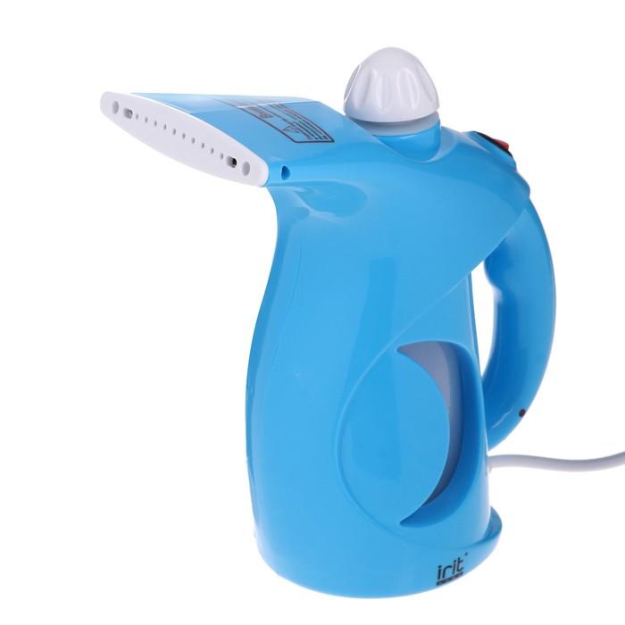 Отпариватель Irit IR-2314, ручной, 800 Вт, 0.2 л, синий