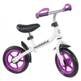 Беговел 10' HUDORA Laufrad Bikey 3.0 Girl, цвет бело-фиолетовый Ош