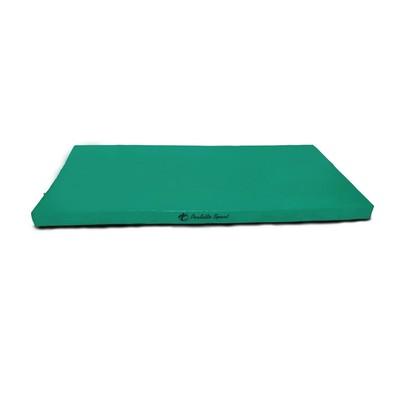 Мат PERFETTO SPORT, 100 х 150 х 10 см, зелёный/жёлтый