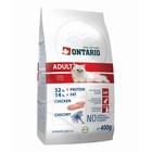 Сухой корм Ontario для кошек, курица, 400 г