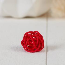 Декор шарик 'Китте' d-3 см (в упак 1 цвет, фасовка 100шт), микс Ош