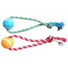 """Игрушка Fauna INT """"Мяч на веревке"""", для собак, 37см"""
