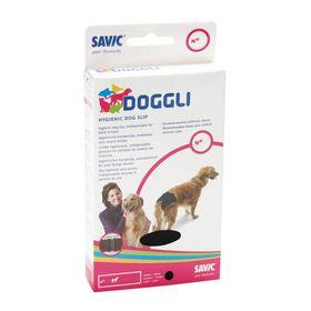Трусы гигиенические для собак, черные, 30-38 см Ош