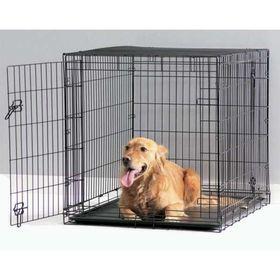 Клетка Dog Сottage для собак, 50 см, чёрная Ош