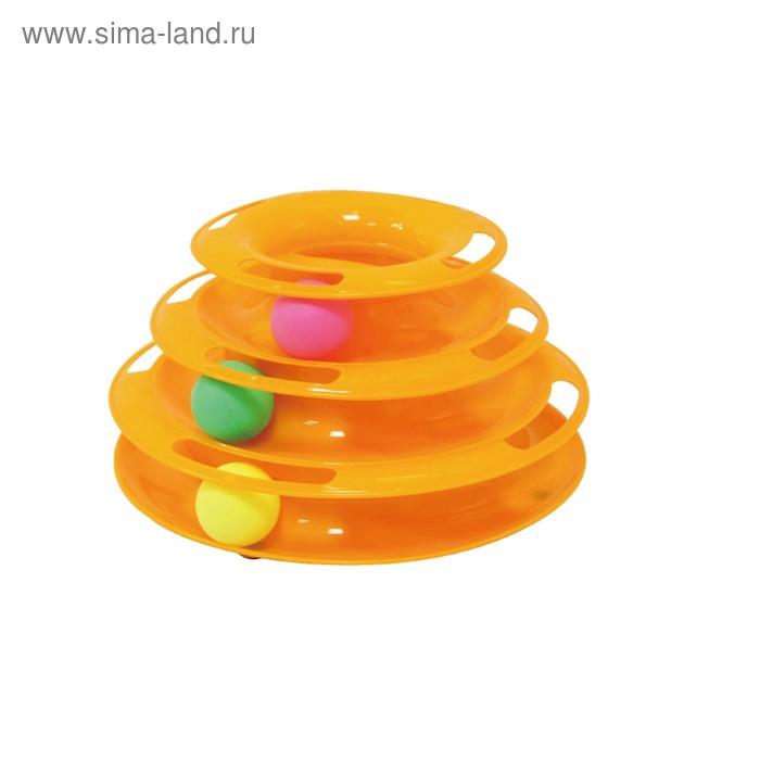 """Игрушка Fauna INT """"Карусель с шариками"""", для кошек"""