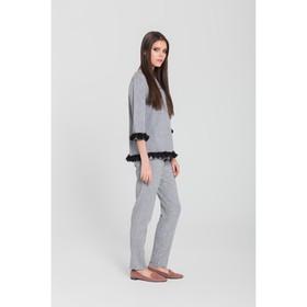 Костюм женский (джемпер, брюки) 3 цвет серый, р-р 42 Ош