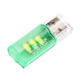Светильник USB 3 LED, пластик, цвет МИКС Ош