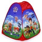 Игровая палатка «Щенячий патруль», в сумке 81x91x81 см