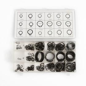 Набор стопорных колец, 18 размеров, 300 шт Ош