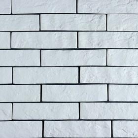 Плитка декоративная 'Кирпичики' белый (набор 0,5м2) Ош