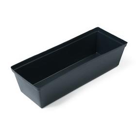 Ящик для рассады, 36 × 14 × 9 см, 3 л, чёрный, «Урожай-7» Ош