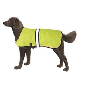 Попона Nobby для собак, светодиодная, на аккум, 40-55/55-70см, желтая Ош