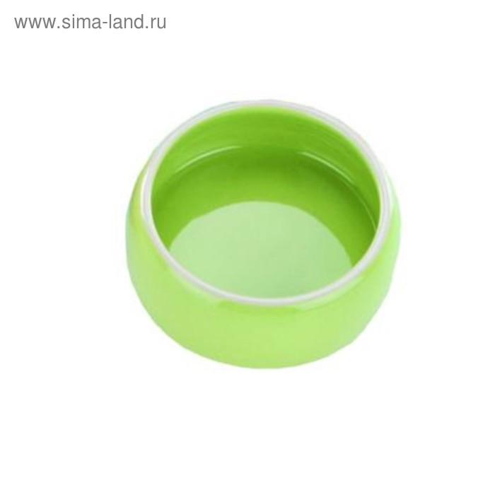 Миска Nobby 125мл, керамика, зеленая