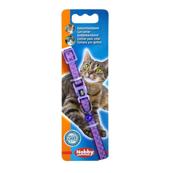 """Ошейник Nobby """"Карро"""" для кошек, фиолетовый"""